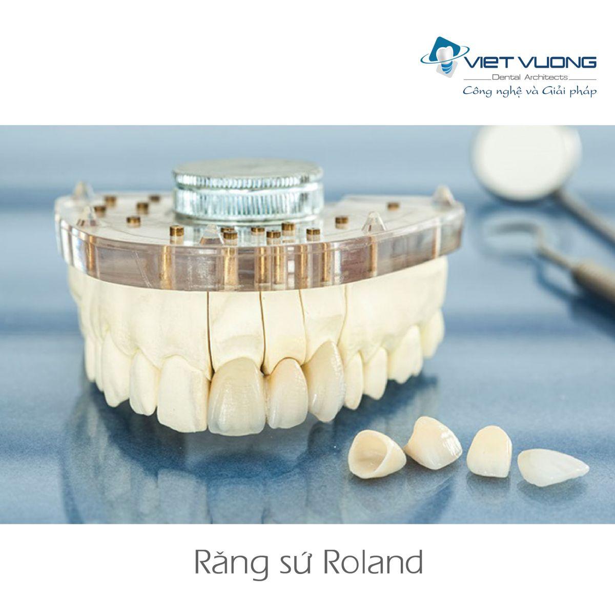 Răng sứ Zirconia – CAD/CAM ROLAND