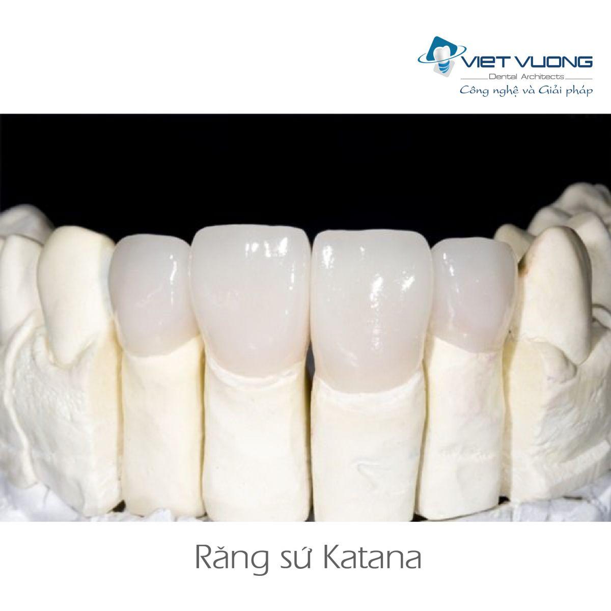 Răng sứ Zirconia – CAD/CAM KATANA