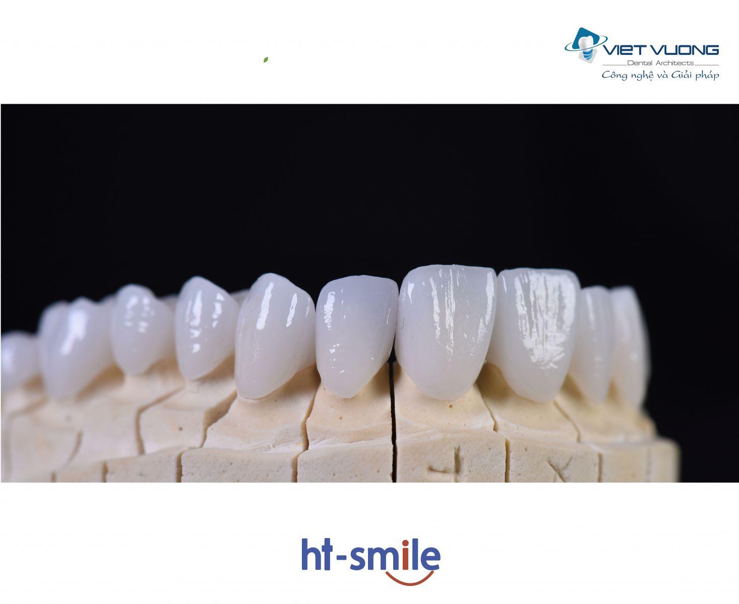 Răng sứ Zirconia – CAD/CAM HT SMILE